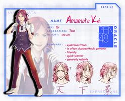 GEN48 :: AMAMOTO, Kei by fuicchi-nee