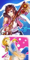 [2/7] Princes of Heart: Kairi and Alice