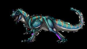 JPW: T- Rex by raptorkil