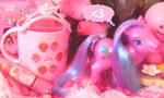 Pink Girl's Happy Wish