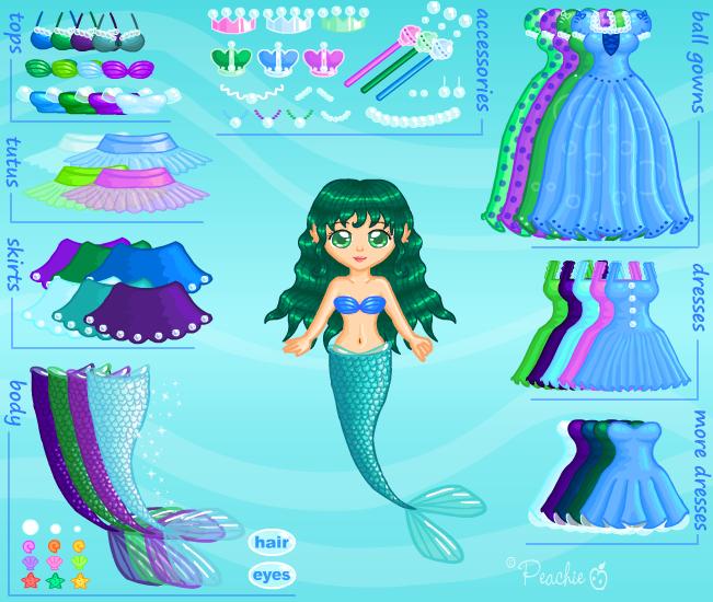 Bubble Princess Dress Up by Princess-Peachie
