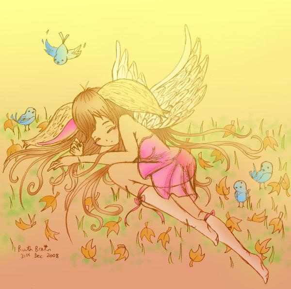 Fallen Fauna Fairy by Princess-Peachie
