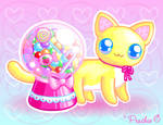 Gumball Candy Cat