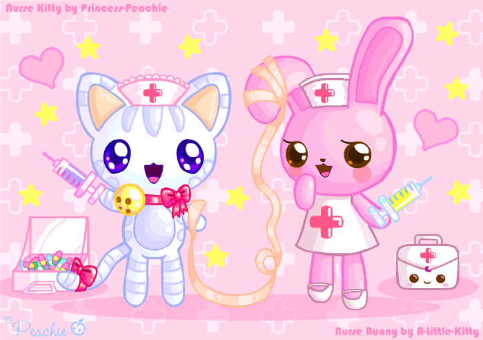 Kitty Cat Nurse Dress Up Games