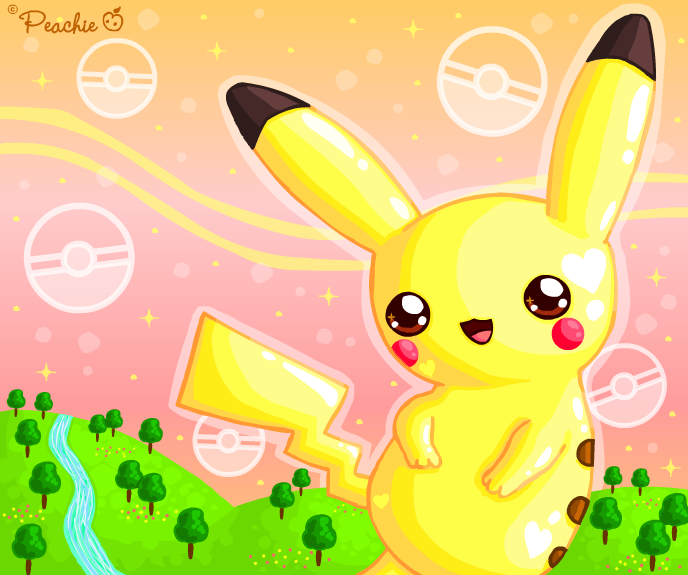 Pika Day by Princess-Peachie