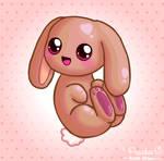 It's a Cute Shiny Bunny