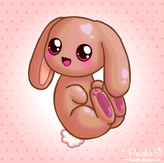 It's a Cute Shiny Bunny by Princess-Peachie