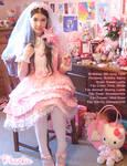 Peachie Bride Lolita ID