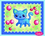 Cherry Lollipop Kitty