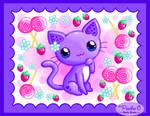 Strawberry Swirl Kitty