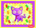 Cat + Gummi Bears