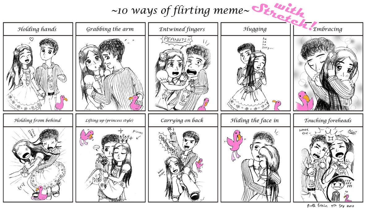 10 ways to flirt