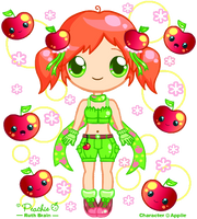 Cutie Appiie by Princess-Peachie