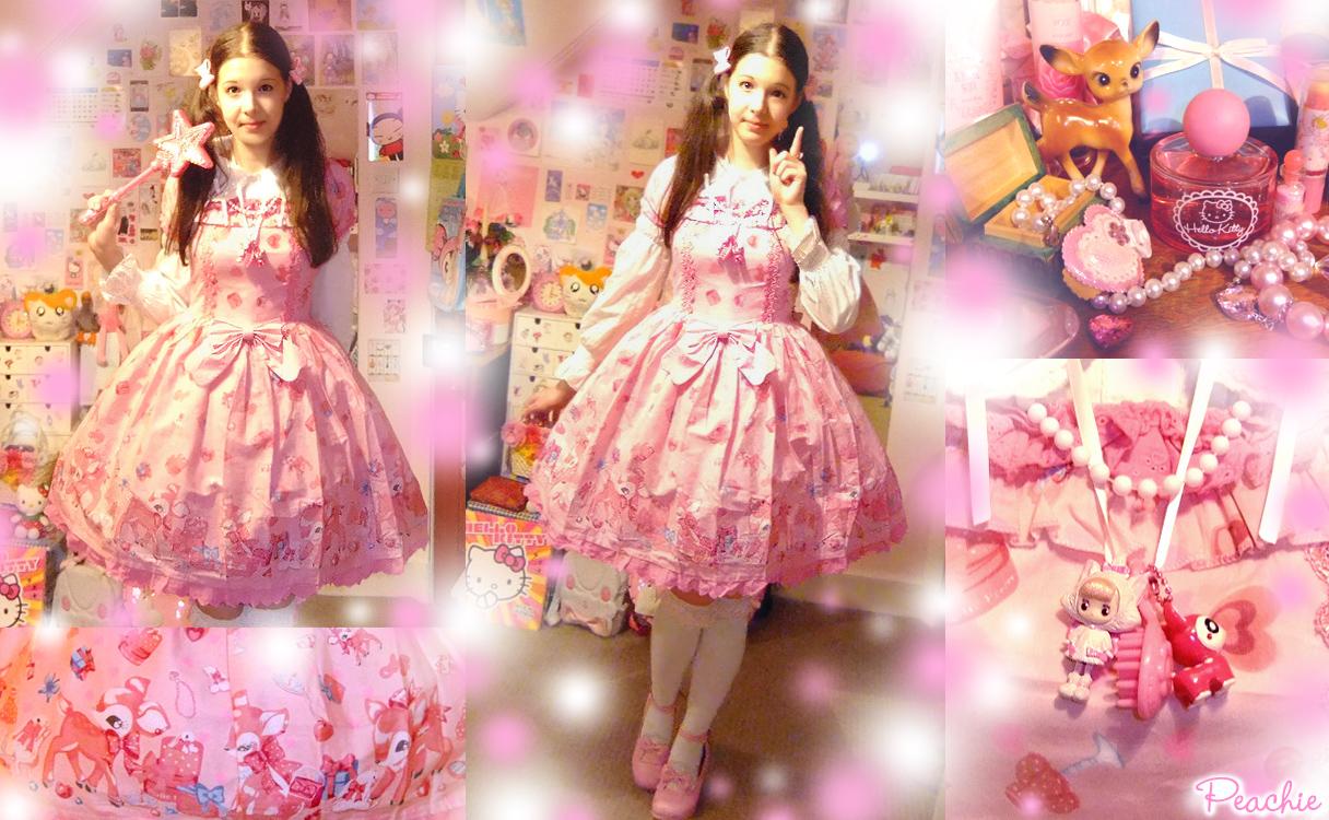 Strawberry Milky-Chan Lolita by Princess-Peachie
