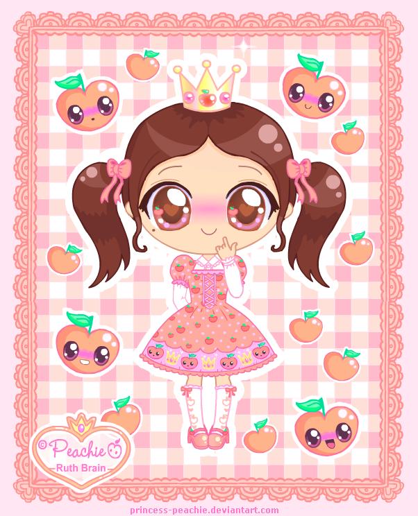 Princess-Peachie Chibi Re-Do by Princess-Peachie