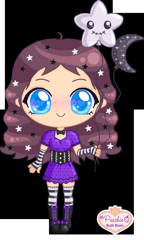 Starry Lizzie by Princess-Peachie