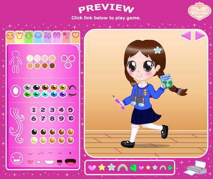 Girls Brigade Dress-Up Preview by Princess-Peachie