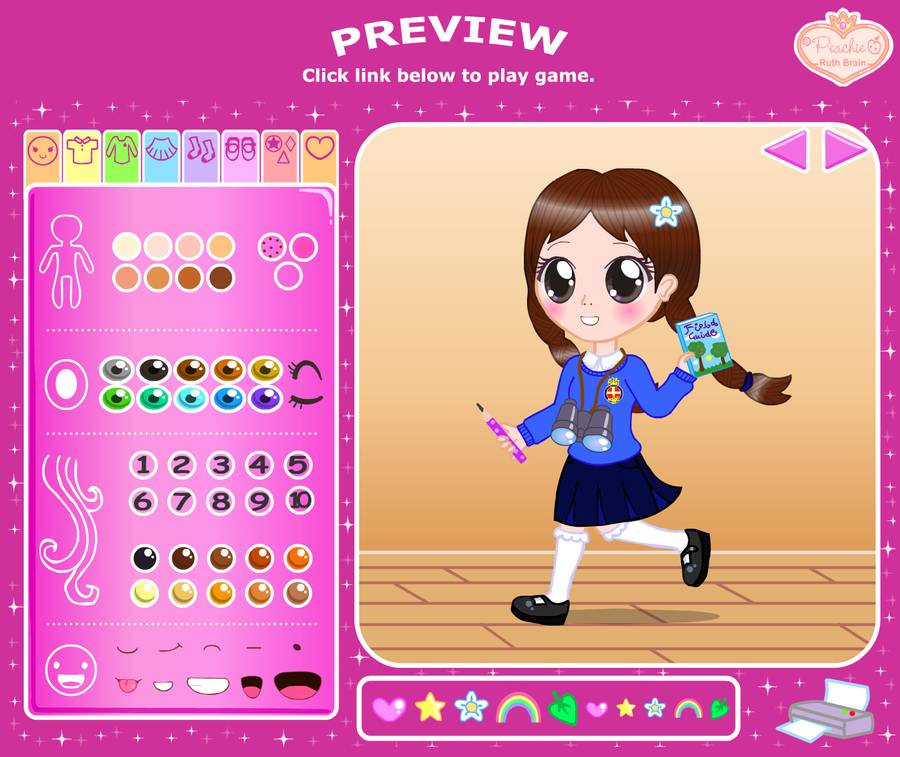 Girls Brigade Dress Up Preview By Princess Peachie On