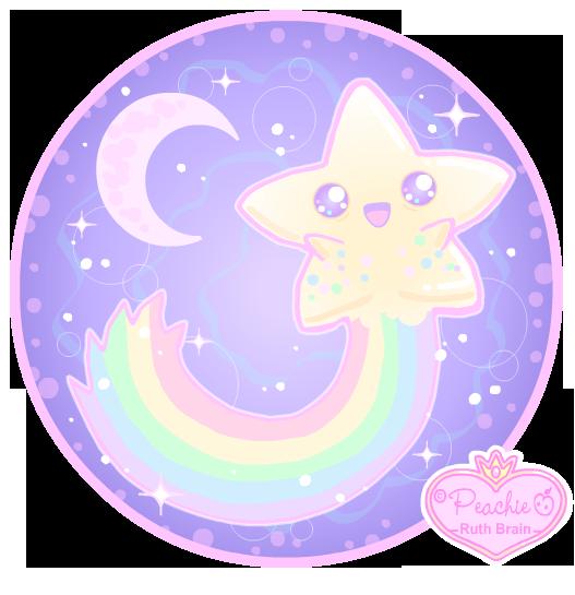 Shooting Star Ghostie by Princess-Peachie