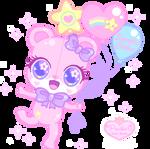 Sweetie Cakes Birthday Teddy