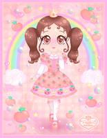 Princess-Peachie Mascot by Princess-Peachie