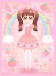 Princess Peachie Mascot - Remake
