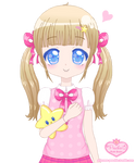 Sweet Girl and Star Plushie
