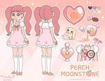 Peach Moonstone - Gemsona