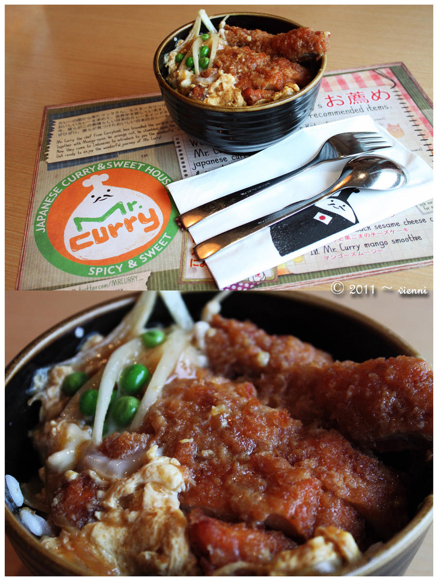 Katsutama Curry Don by viennidemizerable