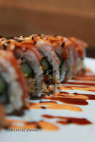 Aburi Salmon Roll by viennidemizerable