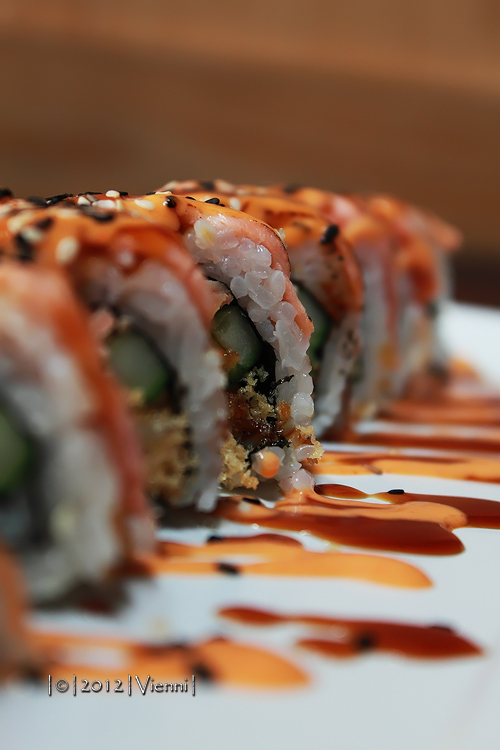 Aburi Salmon Roll by viennidemizerable