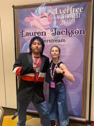 Lauren Jackson and I by MonsieurZemuya
