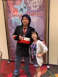 Devyn Dalton and I by MonsieurZemuya