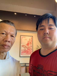 Me and Bolo Yeung by MonsieurZemuya