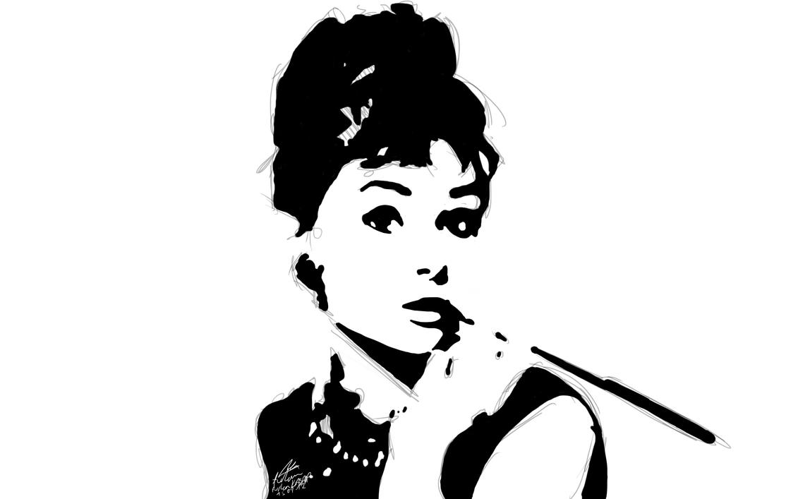 Audrey Hepburn Silhouette   www.imgkid.com - The Image Kid ...