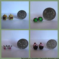 LoL inspired earrings by TigrisVallis