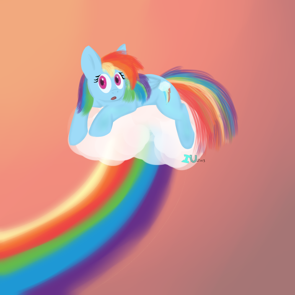 Rainbow Dash by MochiFries