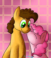 Cheese Sandwich and Pinkie Pie by MochiFries