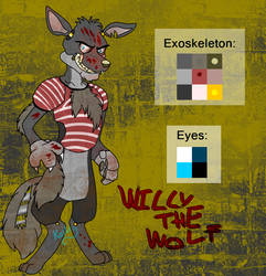 FNAF OC Adoptable - Willy The Wolf (CLOSED)