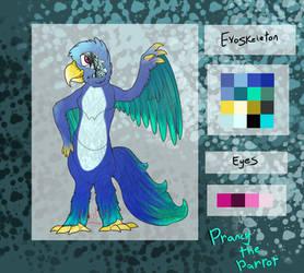 FNaF OC Adoptable - Prancy The Parrot (OPEN)