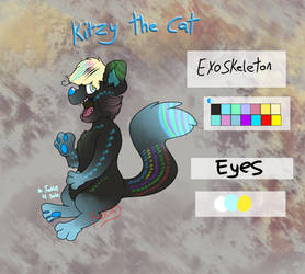 FNaF OC Adoptable - Kitzy The Cat (CLOSED)