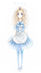 Alice - Original Design by pumpernichol