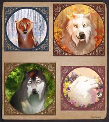 Seasons by Tazihound