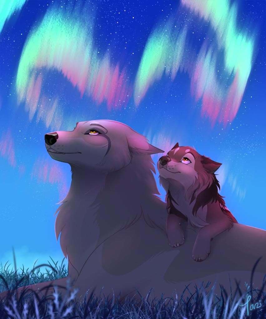 Pretty Anime Wolves Favourites By Moonlightwolfforever On DeviantArt