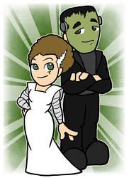 Ginger Buckingham and William - Frankenstein