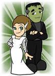 Ginger Buckingham and William - Frankenstein by shineyorkboy