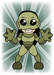 Cinnamon Buckingham-Creature from the Black Lagoon
