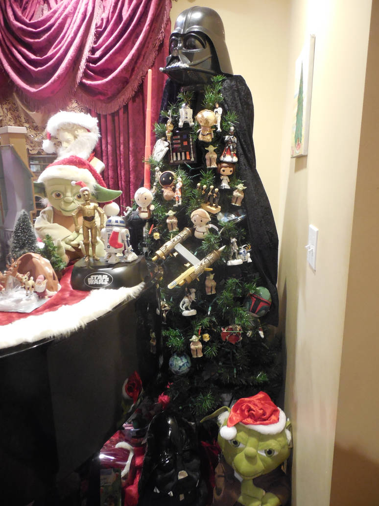 Star Wars Christmas Tree By Toadjacara On Deviantart