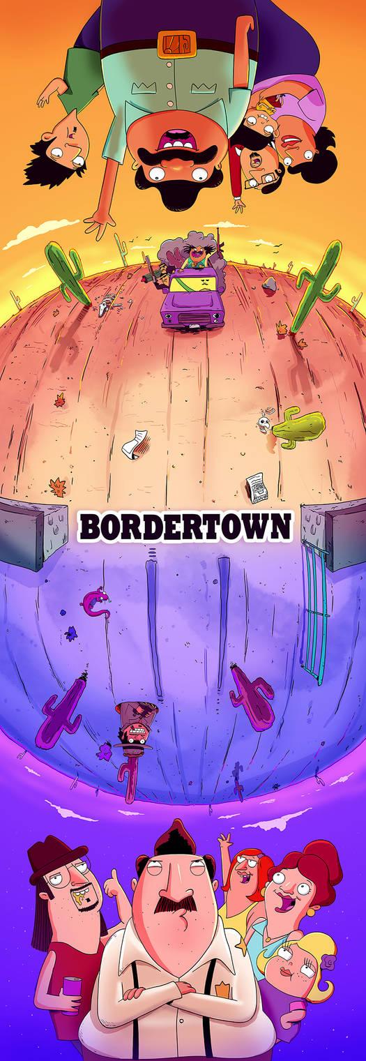 Bordertown Poster