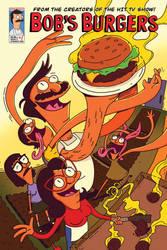 Bobs Burgers Comic Book Cover A P